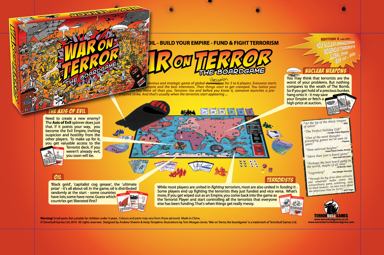 war on terror the board game