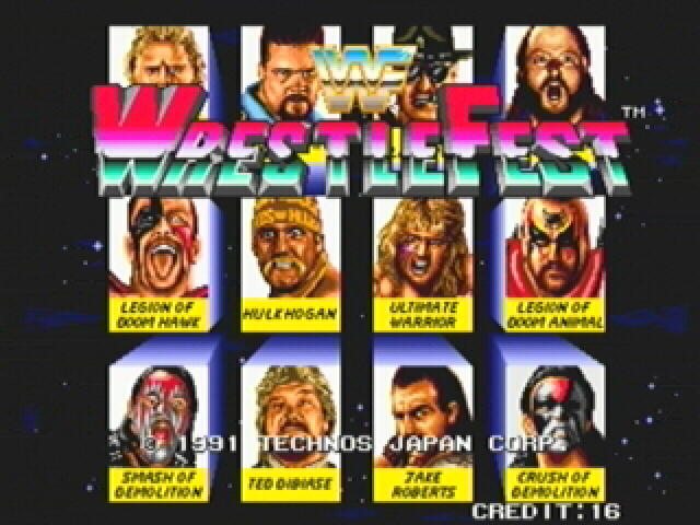 1 Quarter Run: WWF Wrestlefest