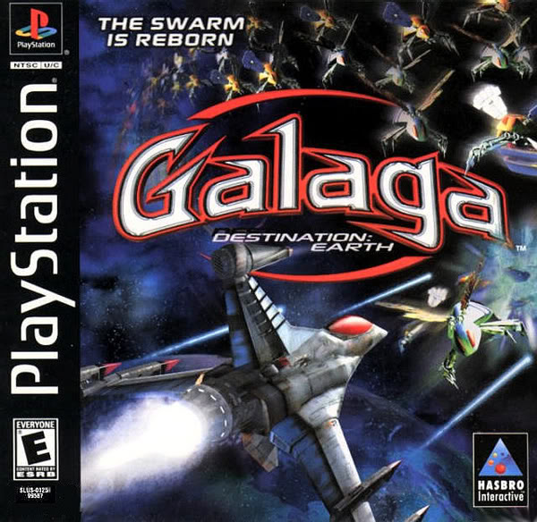 Galaga-Destination Earth