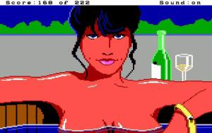 Hot tub babe in Leisure Suit Larry