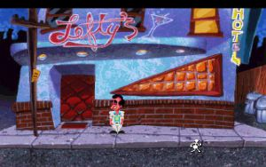 Lefty's bar in the 1991 VGA remake of Leisure Suit Larry