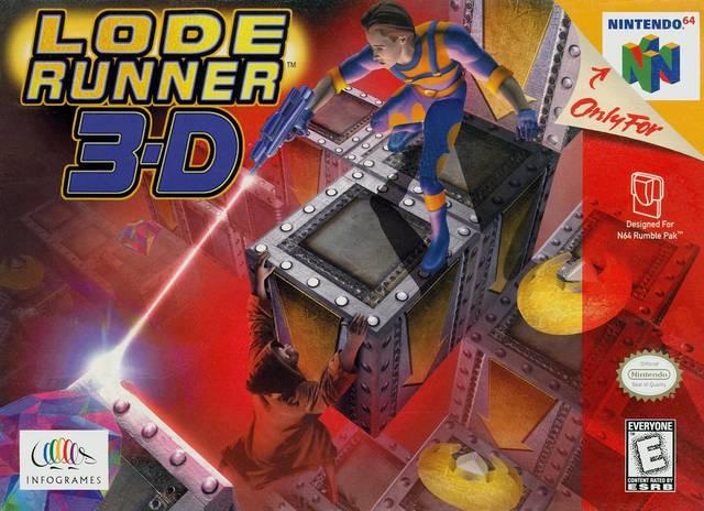 Lode-Runner-3-D - N64