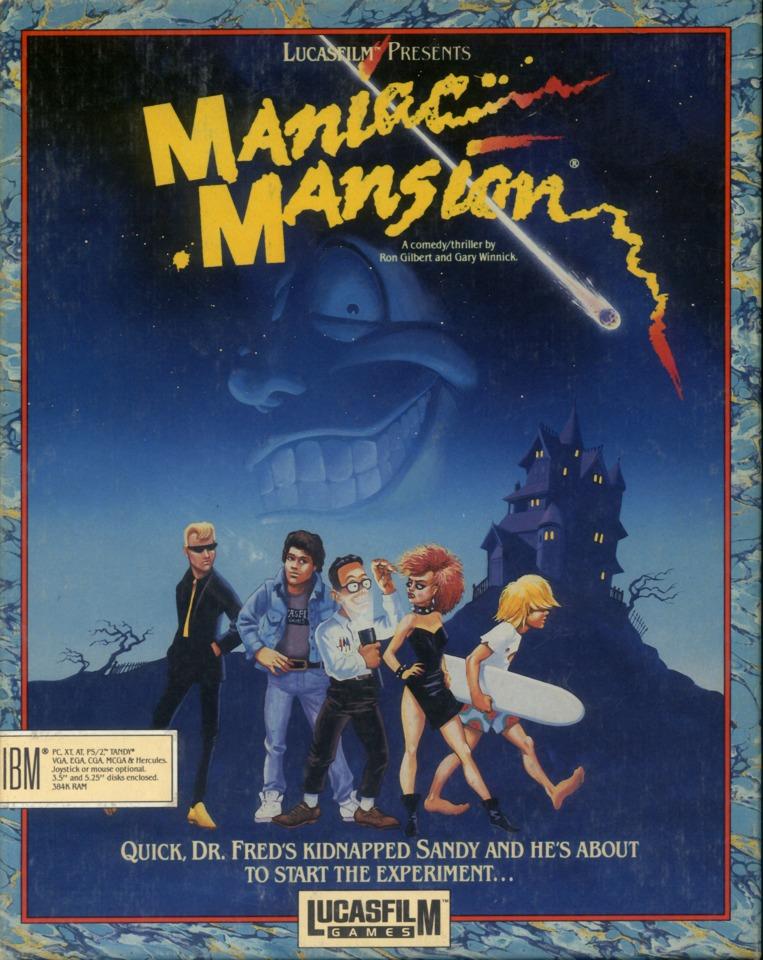 Maniac Mansion PC