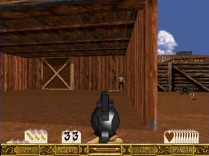 Outlaws - LucasArts Entertainment - PC Gameplay Screenshot-4