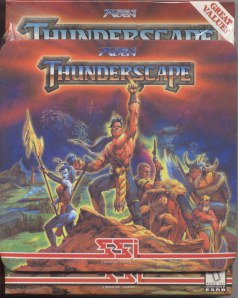 Thunderscape PC Cover