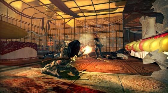 WET - Xbox 360 - Gameplay Screenshot