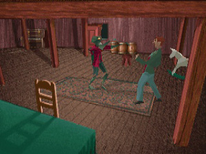 alone in the dark gameplay