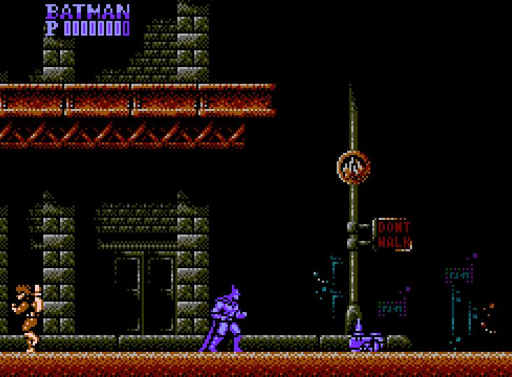 Batman - NES - gameplay