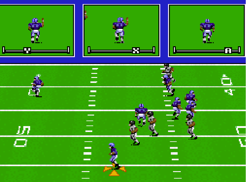 John Madden Football SNES