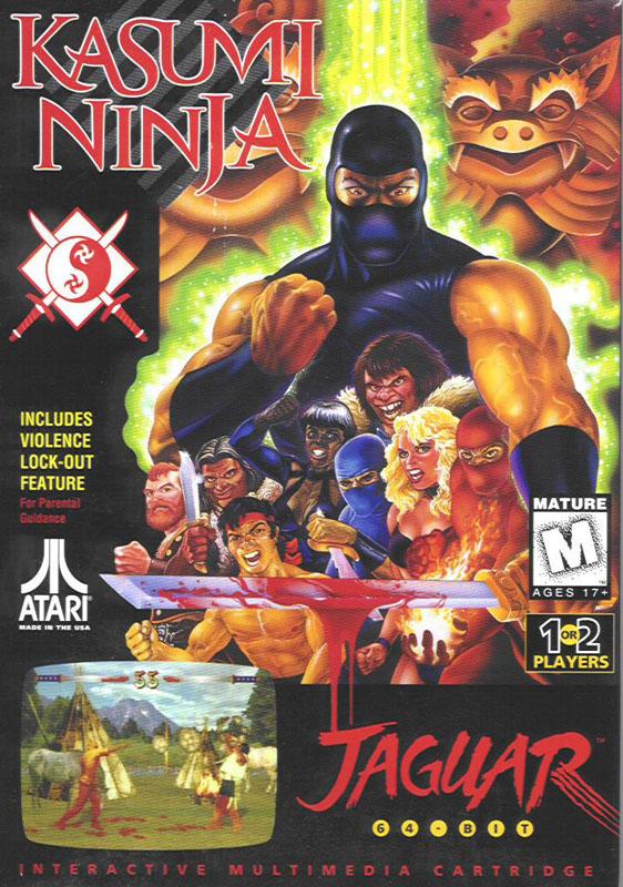 Kasumi Ninja - Atari Jaguar