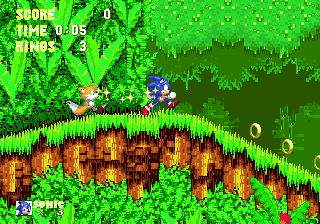 sonic 3 angel island zone