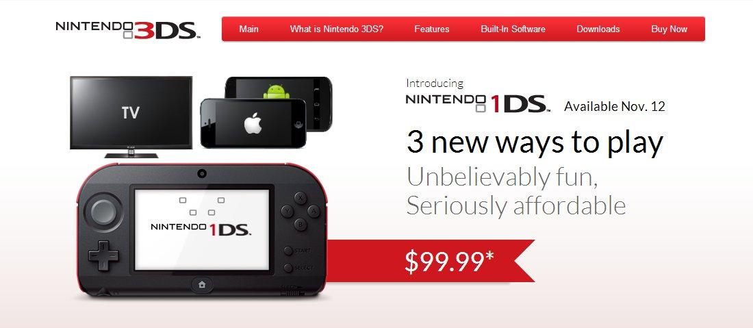Nintendo 1DS