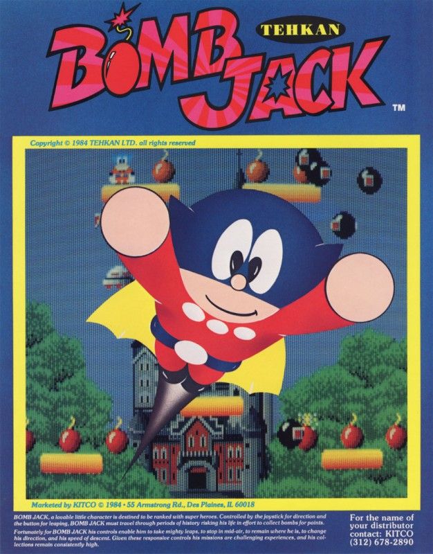 Bomb Jack Flash Game