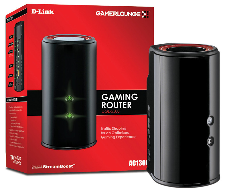 D-Link Gaming Router AC1300