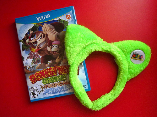 Donkey Kong and Cat Ears