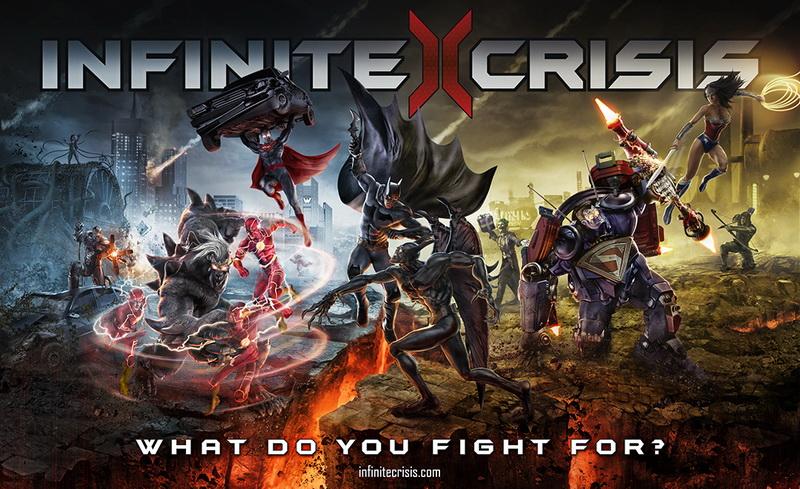 Infinite Crisis MOBA artwork