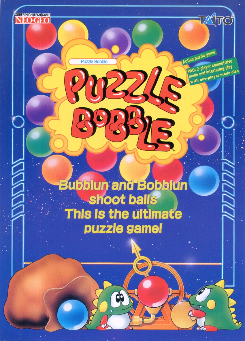 Puzzle Bobble Flash Game
