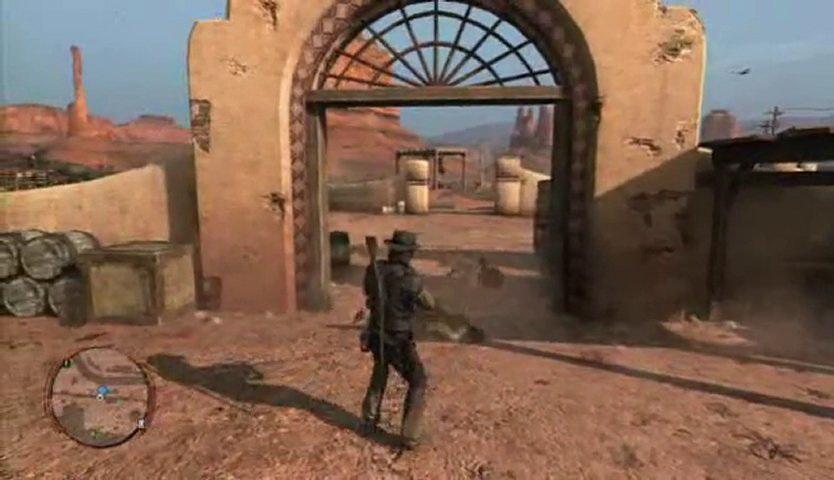 Red Dead Redemption - Xbox 360 - Gameplay Screenshot-
