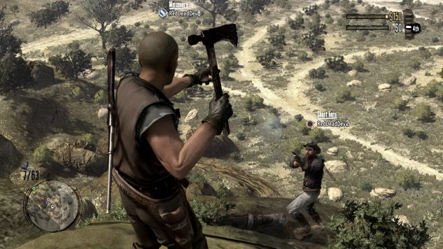 Red Dead Redemption - Xbox 360 - Gameplay Screenshot