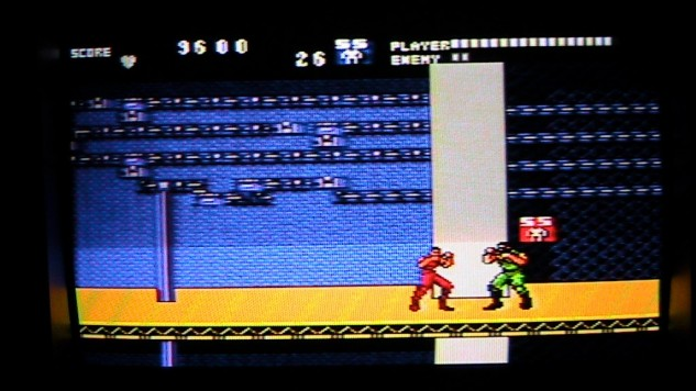 Running Battle for the Sega Master System - Gameplay Screenshot