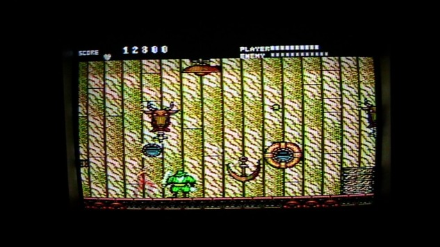 Running Battle for the Sega Master System - Gameplay Screenshot
