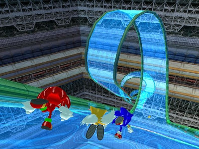 Sonic Heroes - Nintendo Gamecube - Gameplay Screenshot