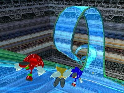 Sonic Heroes - Nintendo Gamecube - Gameplay Screenshot