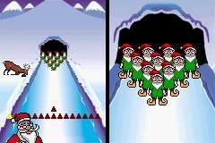 elf bowling DS game