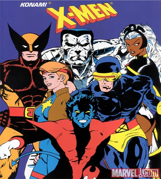x-men the arcade game