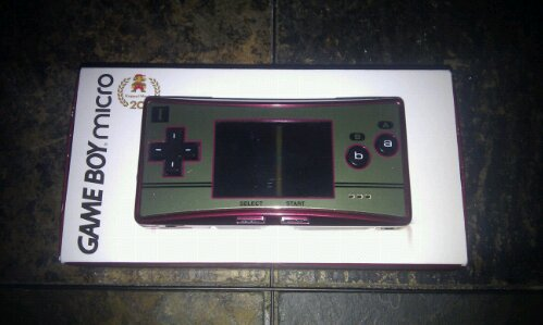 Gameboy Micro Famicom Edition A