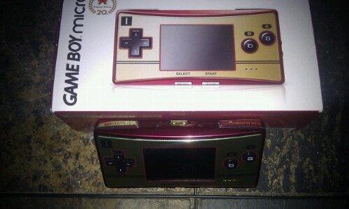 Gameboy Micro Famicom Edition B