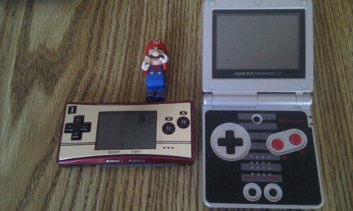 Gameboy Micro Famicom Edition