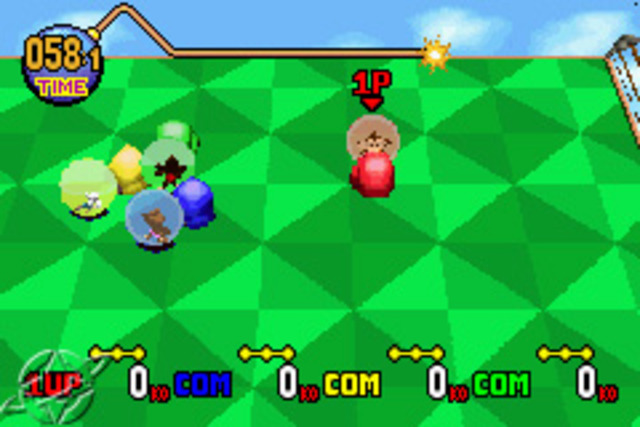 Super Monkey Ball Jr - Gameboy Advanced