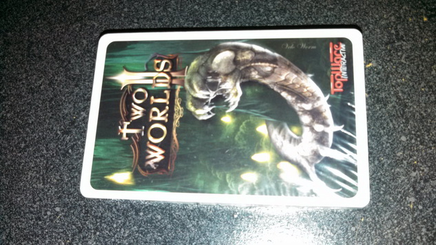 Two Worlds Playing Cards
