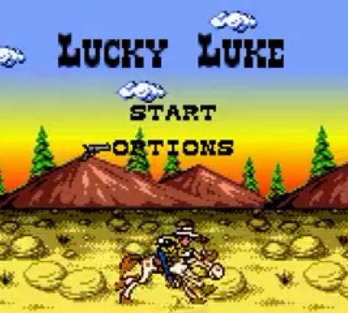 lucky luke gameboy color