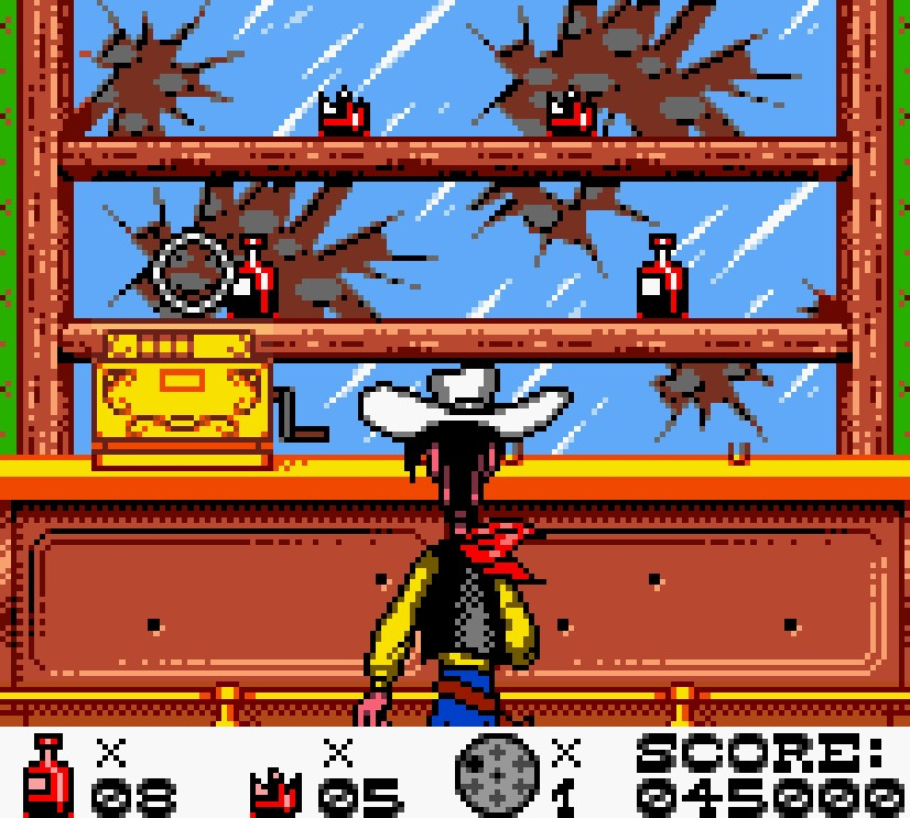 lucky luke gameboy color