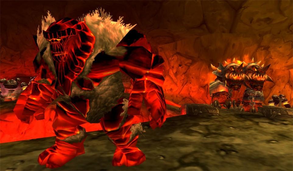 world of warcraft zone, molten core