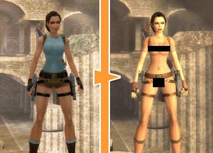 nudity in gaming