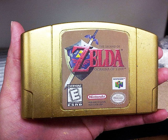 Zelda Cartridge Soap Bar