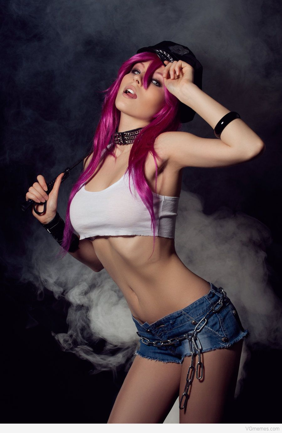 Poison-final-fight Cosplay