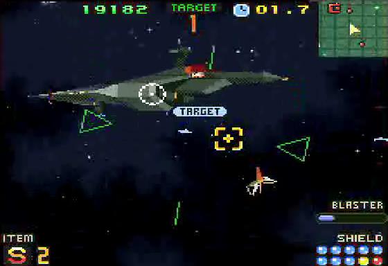 starfox 2 - snes - gameplay screenshot