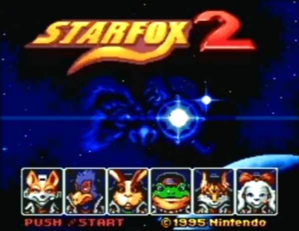 starfox 2 gameplay footages snes