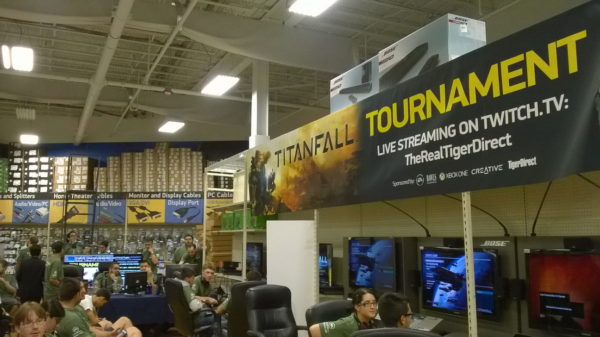 TigerDirect Titanfall Tournament Show