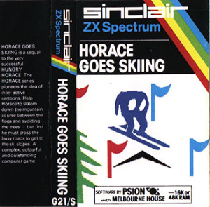 Horace Goes Skiing - ZX Spectrum