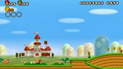 New Super Mario Bros. Wii - Gameplay screenshot -