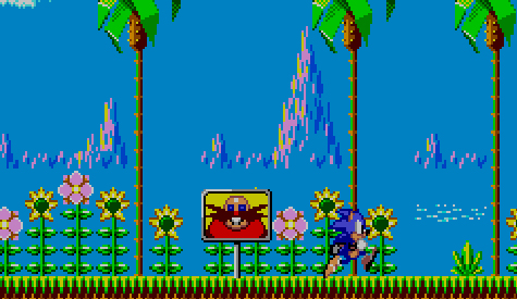 Sonic the Hedgehog - Sega - Master System