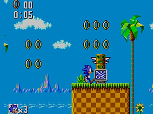 Sonic The Hedgehog Sega Master System Gameplay Screenshot 3 Obsolete Gamer