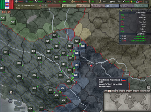 Hearts of Iron 3 Italy