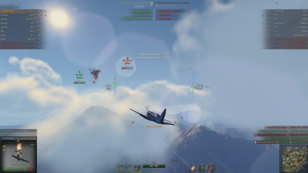 WoWP The usual pleasure that the tier 8 I-250 fighter is