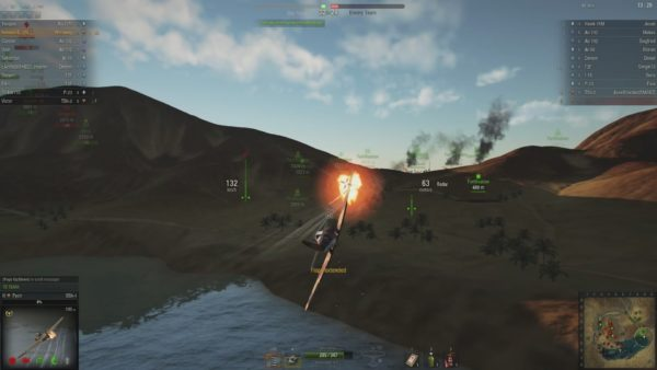 WoWP close defeat in a C-1 Wirraway tier 3 British attack aircraft